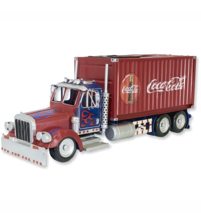 Tissue and ashtray container truck