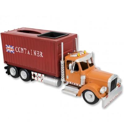 Camión contenedor porta pañuelos y cenicero