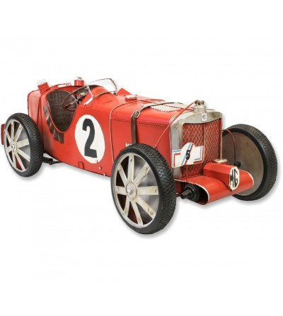 Auto decorativa rossa MG