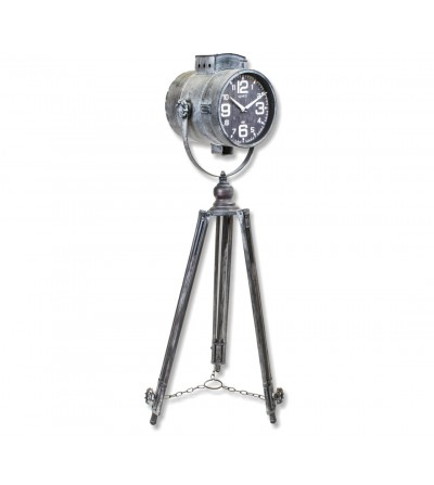 Relógio de pêndulo escuro