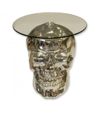 Skull table -Silver-
