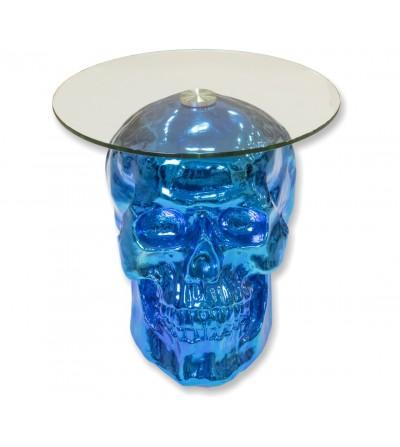 Skull table -Blue-