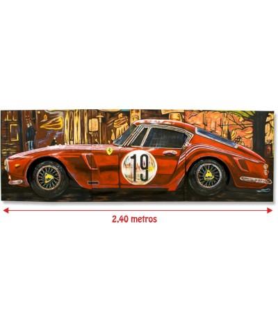 Cuadro Ferrari 250 GTO 2,40 metros