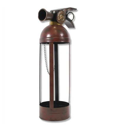 Botellero extintor