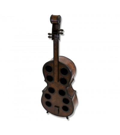 Casier à vin en bois pour violoncelle