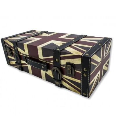 Vintage Wandregal Koffer