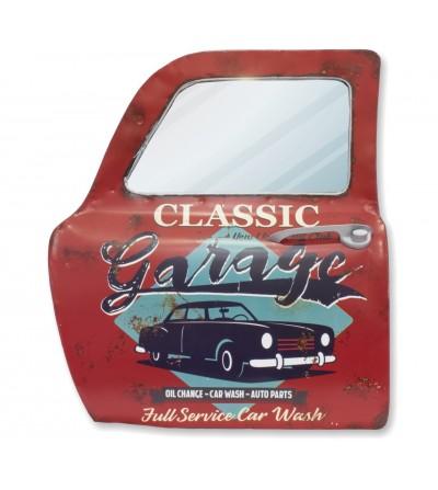 Espejo puerta coche decorativa classic Garage