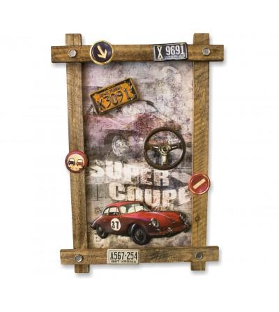 copy of Cuadro vintage coche