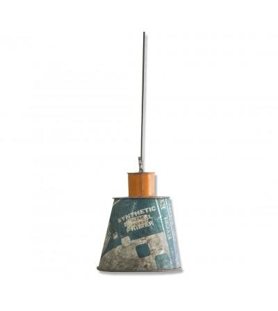 Lámpara de techo vintage metálica