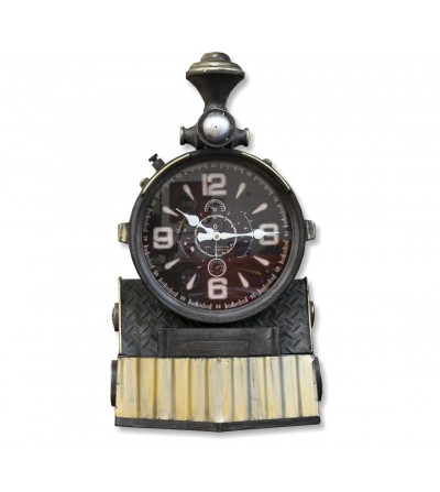 Orologio da treno vintage decorativo
