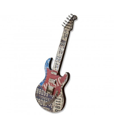 Decorative metal guitar