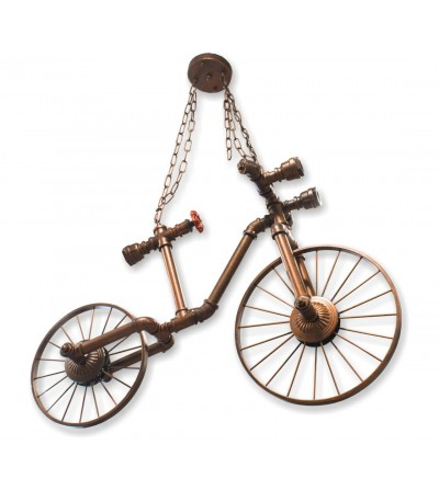 Bicycle ceiling lamp