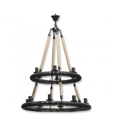 Lámpara de techo redonda