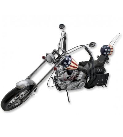 Moto Harley Davidson Easy Rider decorativa