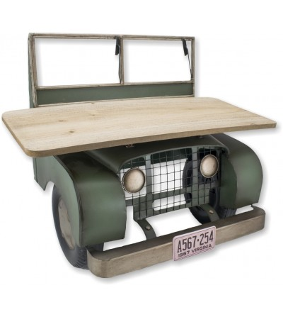 Retro Jeep car shelf shelf