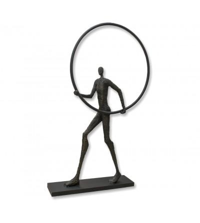 Escultura figura humana