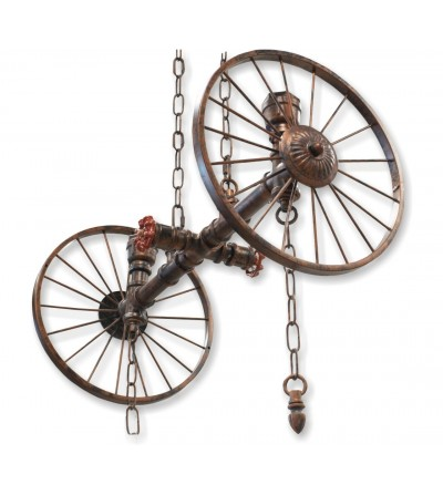 Ceiling lamp wheels