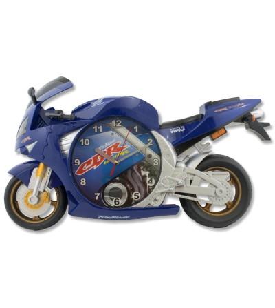 Relógio de motocicleta azul Honda cbr 600rr