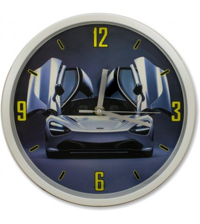 Relógio de parede carro esporte