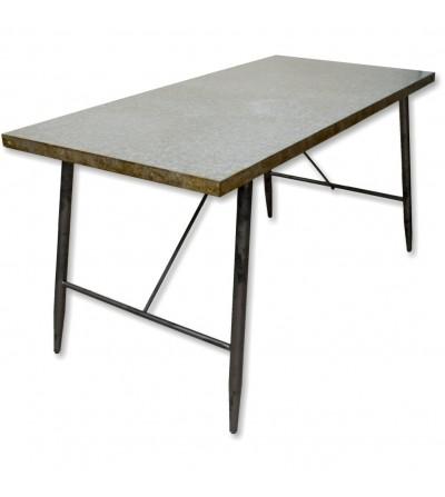 Mesa de metal vintage
