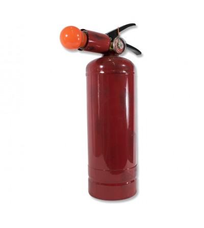 Decoração de lâmpada de extintor de incêndio de mesa