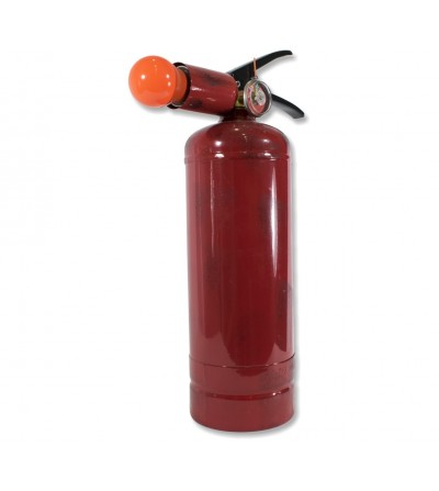 Tabletop fire extinguisher lamp decoration