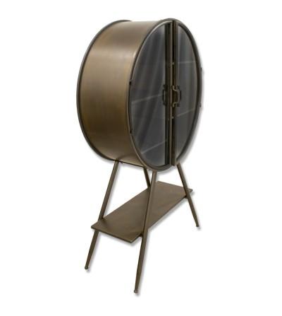 porta tronchi con borsa in tela per interni ed esterni Portarlegna vintage con 2 ripiani in metallo nero DWD/® con accessori per caminetto 4 strumenti solo borsa in tela