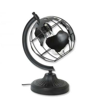 Terrestrial globe lamp
