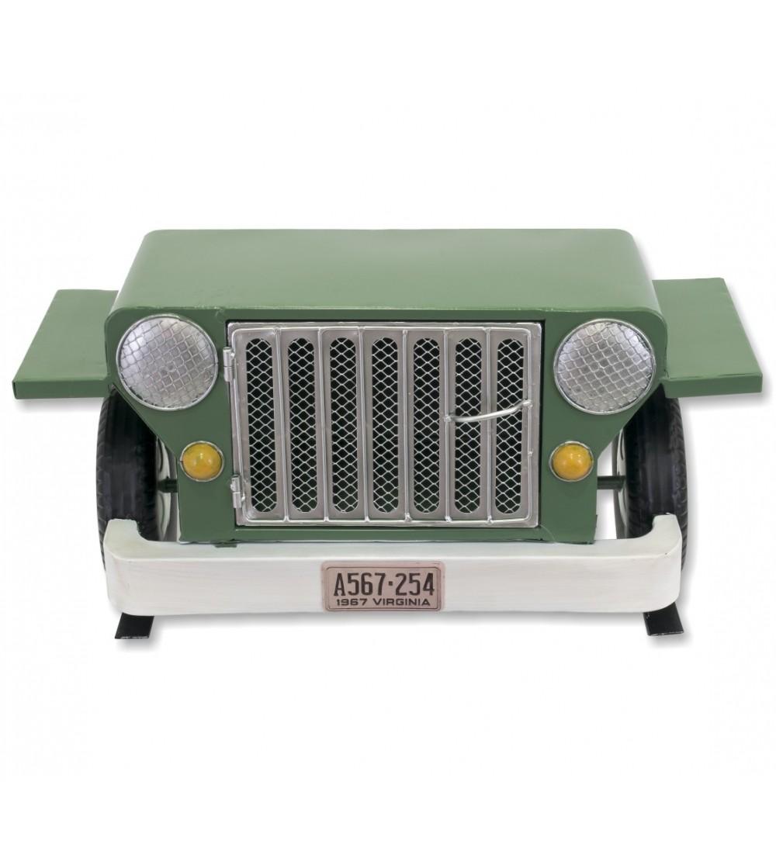 Étagère verte Jeep avec porte