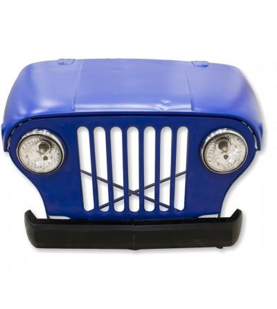 Mesa escritorio vintage Jeep azul