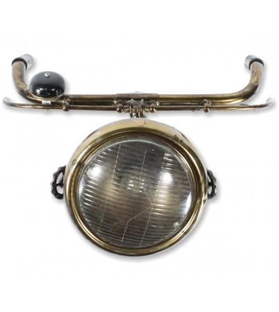 Lampe industrielle avant de moto