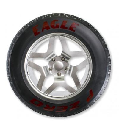 Dekoratives EAGLE-Reifenrad aus Metall