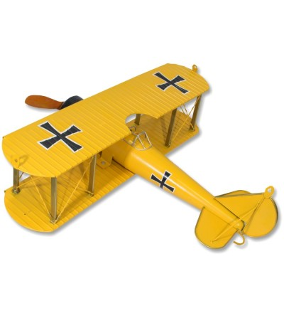 Decorative Red Baron metallic plane