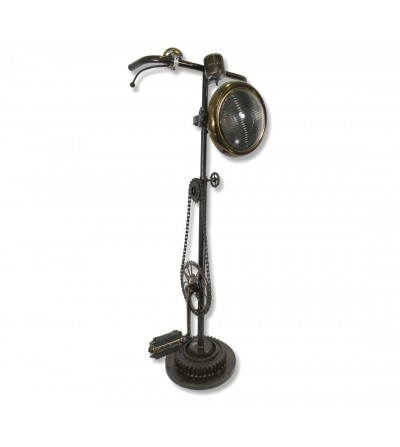 Industrial lamp bicycle parts and focus