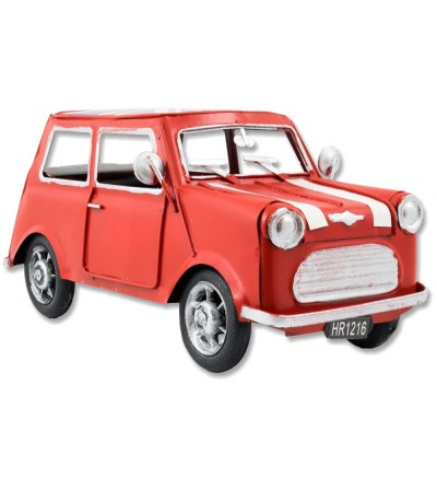 Red Mini metallic car