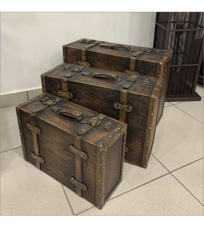 Set 3 maletas vintage
