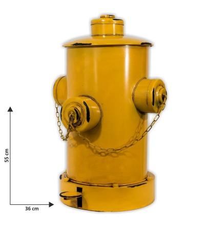 copy of Red fire hydrant bin