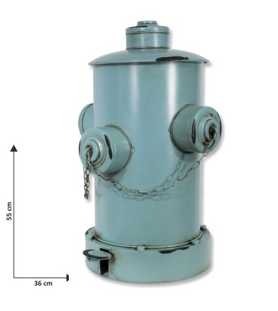 copy of Blauer Hydrantenbehälter