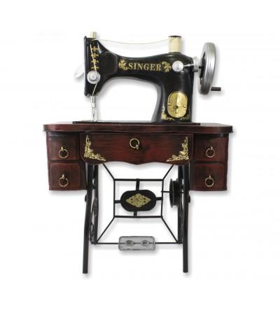 Maquina de costura decorativa