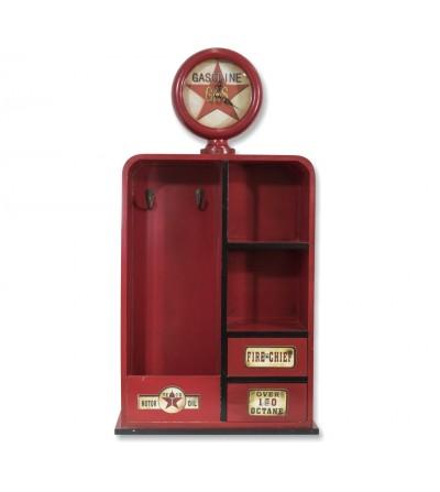 Dispenser shelf clock