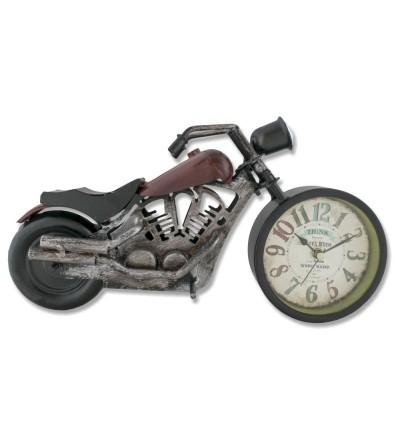 Red Harley Davidson motorcycle metallic watch