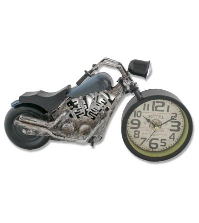 Blaue Harley Davidson Motorrad Metallic Uhr