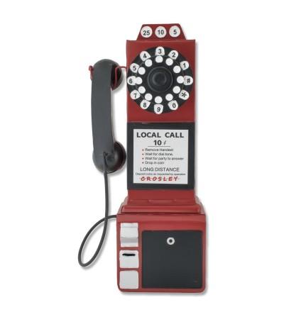 Decorative metallic phone