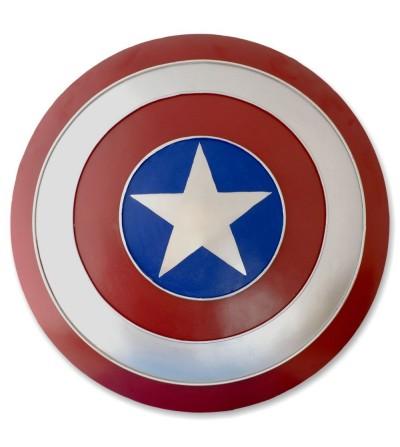 Metallic Captain America Shield