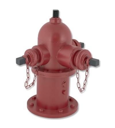 Boca de incendios decorativa metálica