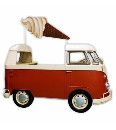 Food truck Volkswagen T1 mostrador