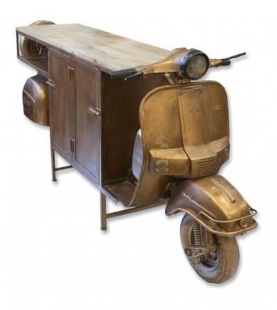 Vespa bornce long counter with doors
