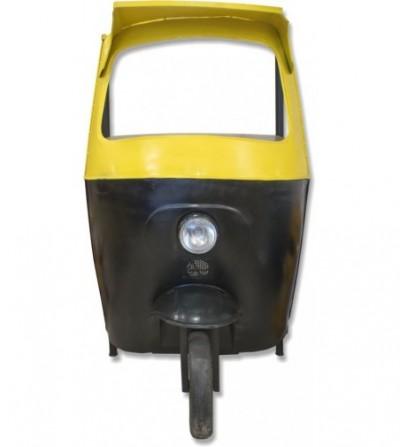 Botellero Tuc Tuc bicolor amarillo y negro