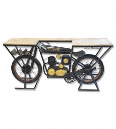 Moto Brough Superior black counter