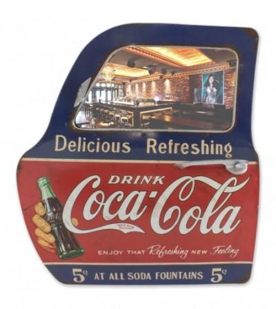 """Car door mirror """"Coca · Cola"""""""